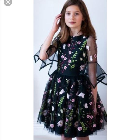 f9115447a5e7 Charles David Dresses   David Charles Embroidered Flower Dress ...